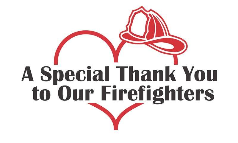 Thanks Firefighters