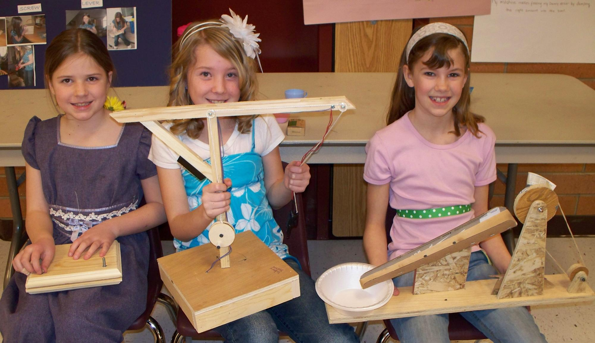 simple machine projects for 3rd graders